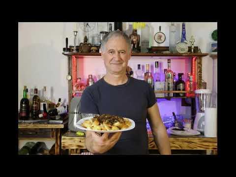 Хрустящая жареная картошка с грибами от Сержа!Жить со вкусом!