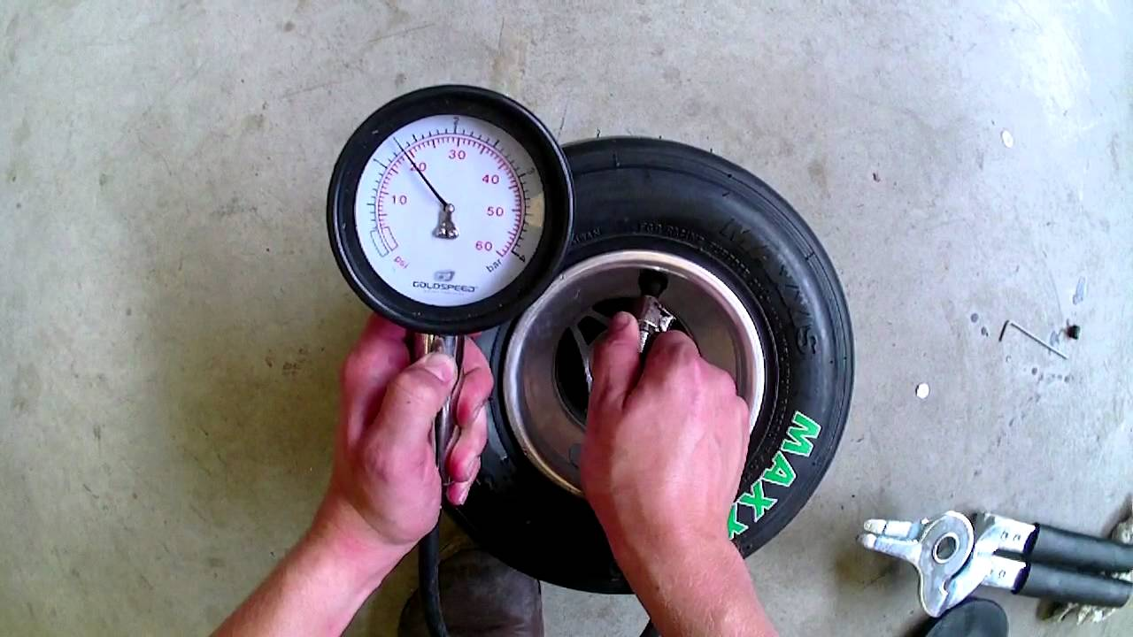 SET-UP: The right tire pressure on your K4A® kart - YouTube