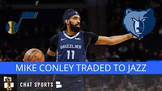 BREAKING: Mike Conley Traded To Utah Jazz; Grizzlies Receive Grayson Allen, Kyle Korver, Jae Crowder