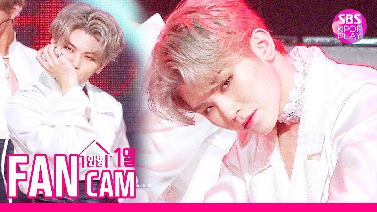 [안방1열 직캠4K] 세븐틴 우지 '독 : Fear' (SEVENTEEN WOOZI Fancam)│@SBS Inkigayo_2019.10.6
