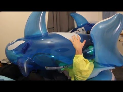 B2p Blow To Pop Blue Inflatable Whale 2 Youtube