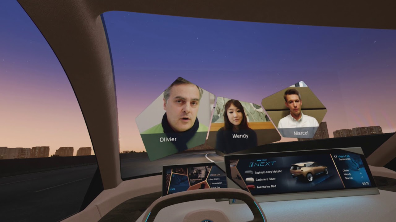 Ces 2019 Bmw Vision Inext Mixed Reality