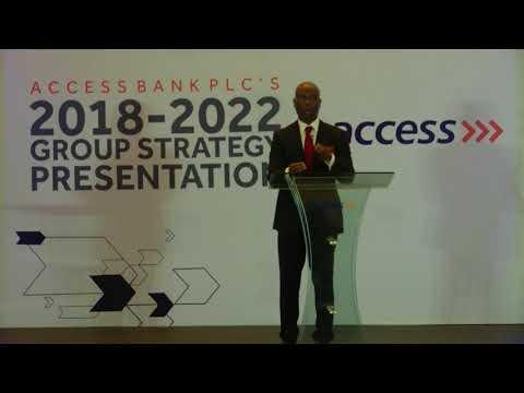 Access Bank's Five-Year Strategic Plan - Part 1