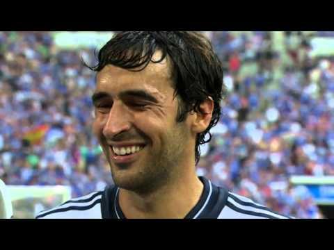 GAZPROM Interview Raúl und Metzelder bei Sport1