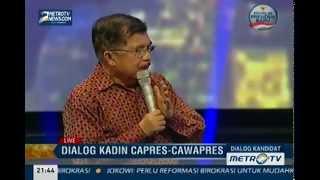 Dialog Kadin Capres dan Cawapres: Jokowi-JK (5)