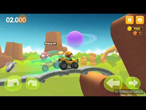 """Big Bang Racing  (Special addition with commentary of the real """"Grey Storm"""" my son """"Greyson"""") 