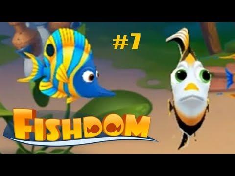 Fishdom Аквариум Мечты прохождение #7 (уровни 57-66) Новая Рыбки-Бабочки и Супер-Серия