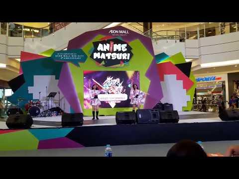 Kiyomi - Angelic Angel & Gokuraku Jodo [ GARNiDELiA ] Dance Cover At Anime Matsuri, AEON Mall