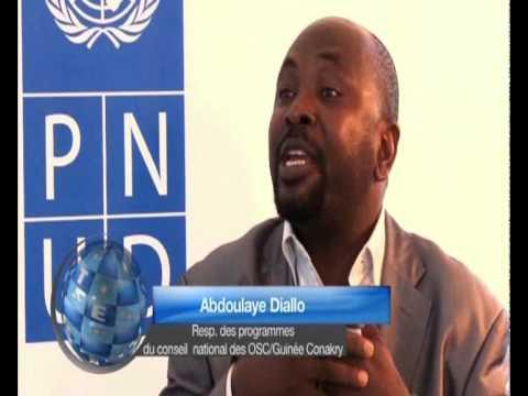 PNUD et TrustAfrica, Africa7: Invite de la Redaction, Abdoulaye Diallo