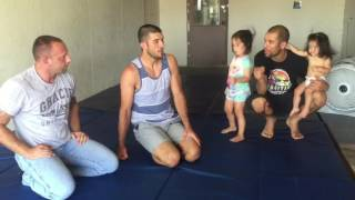 SURPRISE Gracie Garage Visit by Ryron AND Rener