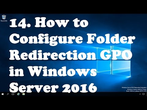 14  How to Configure Folder Redirection GPO in Windows