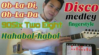 Disco Medley Fingerstyle Guitar Cover - Jojo Lachica Fenis - Obladi Oblada - Six Two Eight