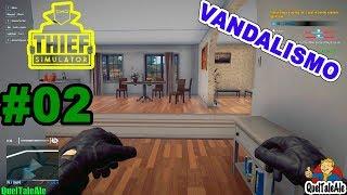 FRANCONE IL VANDALO - Thief Simulator - Gameplay ITA - #02