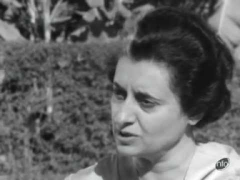 Indira Gandhi interview on food shortage problem (1)