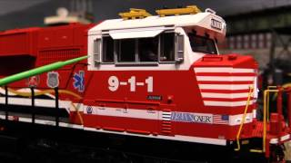 mth norfolk southern first responders sd60e