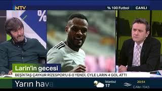 Rıdvan Dilmen ve Murat Kosova ile %100 Futbol (Beşiktaş-Rizespor | 6 Ocak 2021)