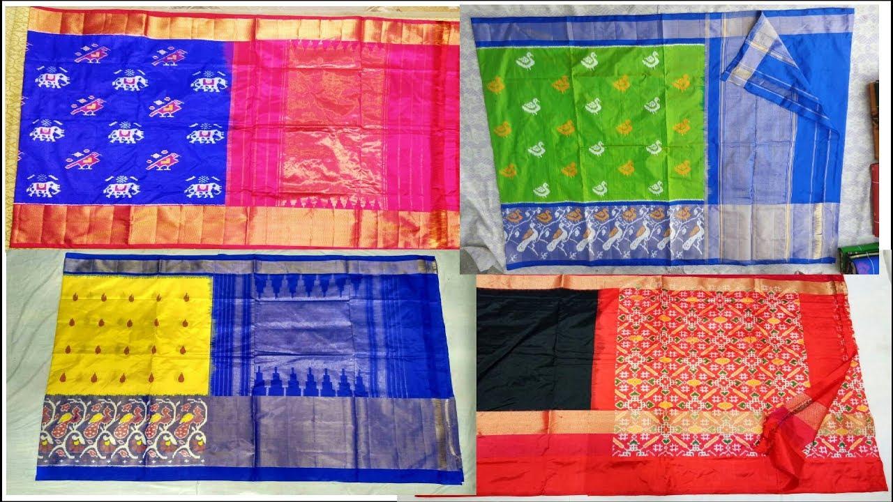 4e0b0b60e9d7d2 latest pochampally sarees
