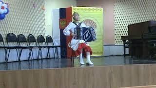 Гуськова Ольга, гармонь - П.Шоркин
