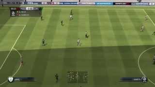 Fifa 15 PL vs IRL Gameplay