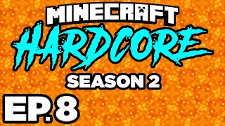 🌋 FINDING A BASTION REMNANT & WARPED FOREST!!! - Minecraft: HARDCORE s2 Ep.8 (Gameplay / Let's Play)
