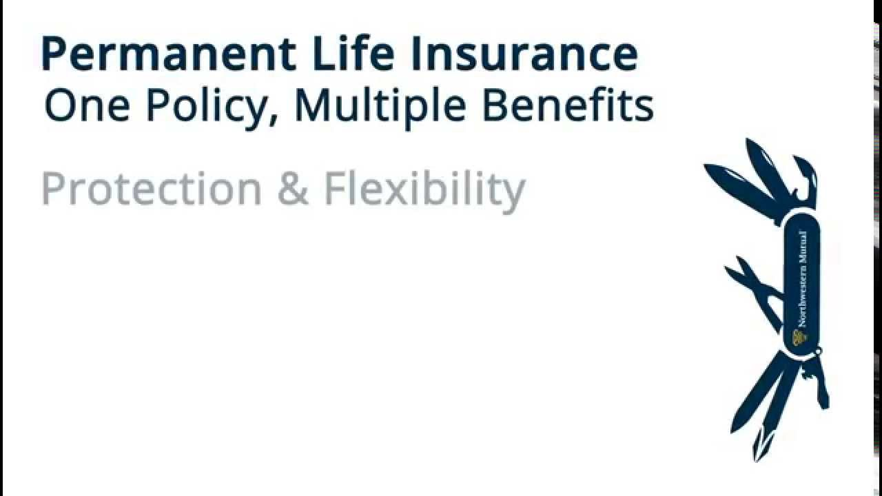Northwestern Mutual Life Insurance Quote Northwestern Mutual Permanent Life Insurance Flexibility  Youtube