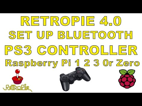 Retropie 4 0 How To Set Up Bluetooth Ps3 Controller