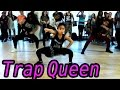 watch he video of TRAP QUEEN - Fetty Wap Dance | @MattSteffanina Choreography ft 9 y/o Asia Monet! #DanceOnTrap