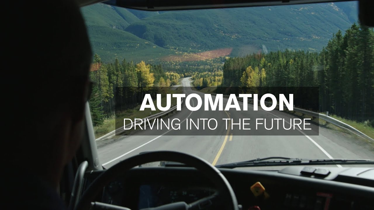 Volvo Trucks Automation Driving Into The Future Youtube