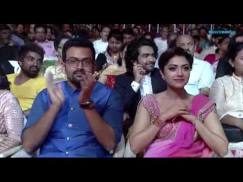 VANITHA FILM AWARDS 2016- PART 17 - PARVATHY- BEST ACTRESS