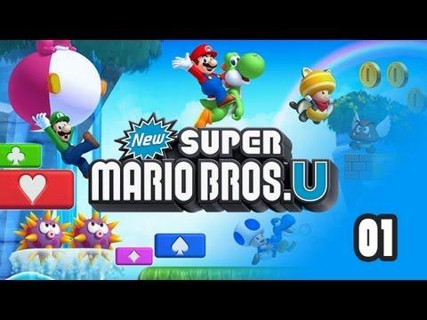 New Super Mario Bros. U - Прохождение pt1
