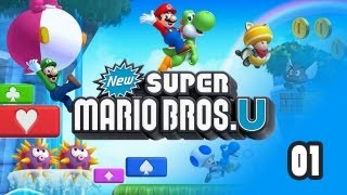 New Super Mario Bros. U - Прохождение pt1