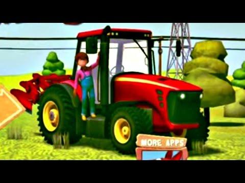 Ферма: ТРАКТОРА и ДОМАШНИЕ ЖИВОТНЫЕ. Игры для детей - Обзор Приложения