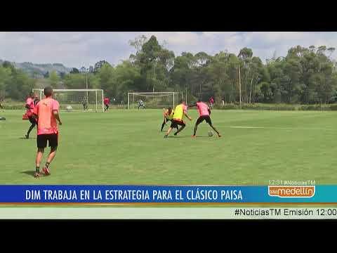 Independiente Medellín entrena de cara al clásico paisa [Noticias] - Telemedellín