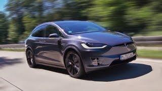 Tesla Model X P100D: Mit 250km/h über die Autobahn!
