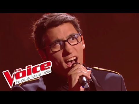 Vincent Vinel - «Somebody To Love» (Queen) | The Voice France 2017 | Live