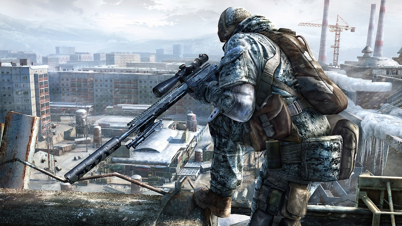 COOLEST STEALTH MISSION FOR THE SNIPER In Game Sniper Ghost