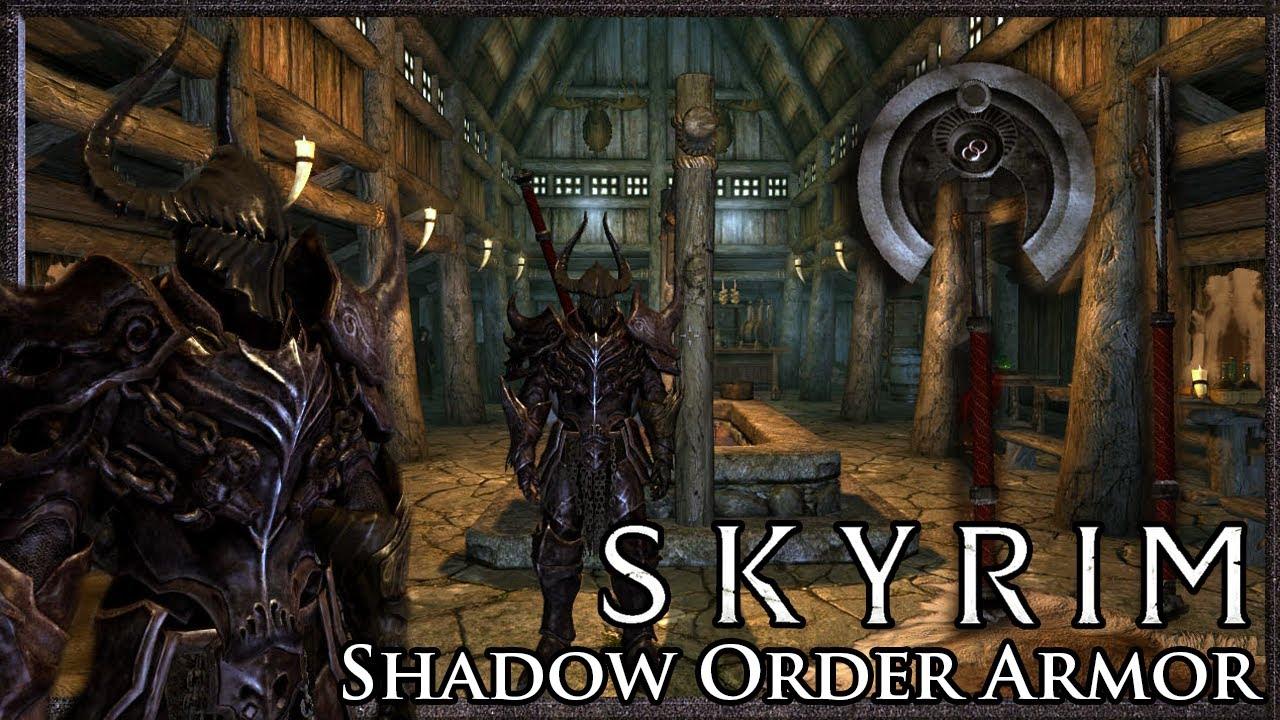 Skyrim Mod: Shadow Order Armour Set