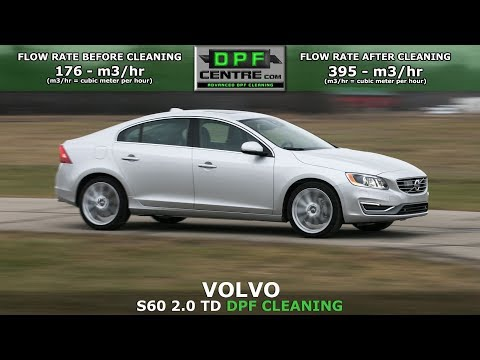Volvo S60 2.0 TD DPF Cleaning