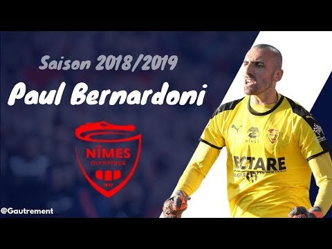 Paul Bernardoni l Top Saves l Nîmes  Olympique l 2018/2019