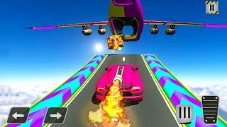 Rocket Car Racing Stunts - Car Inside Cargo Plane - Android Gameplay FHD