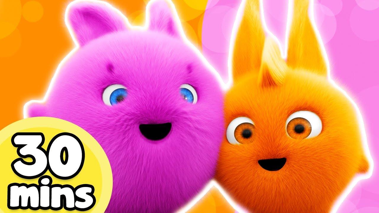 Cartoon ★ Sunny Bunnies - 30MIN FAVOURITE EPISODES ★ Funny Cartoons for Children 🐰 #w/1