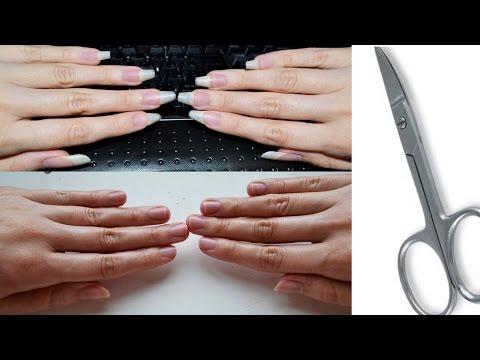 Как правильно обрезать ногти на руках. Маникюр