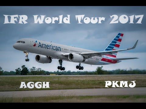 [X-PLANE 11] IFR World Tour 2017  ALL187 ✈AGGH ✈ PKMJ