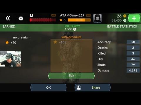 Anthony At AtamGaming Playing Counter Strike Like Game Code Of War!!!