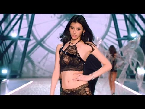 Ming Xi Victoria's Secret Runway Walk Compilation 2013-2016 HD