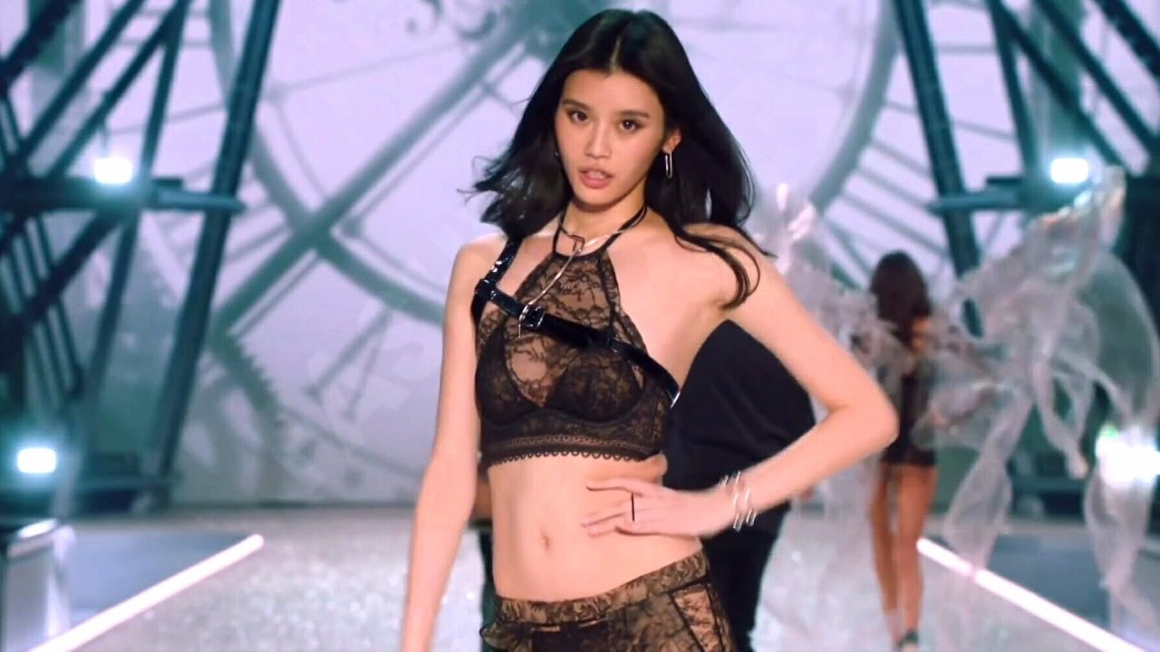 a9d2d4153e48 Ming Xi Victoria s Secret Runway Walk Compilation 2013-2016 HD - YouTube
