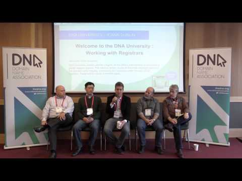 Working with Registrars (DNA University at ICANN 54)