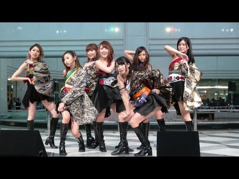 ライダーシリーズ初のガールズ・ユニット仮面ライダーGIRLS!バラード曲「咲いて」と共に・・・