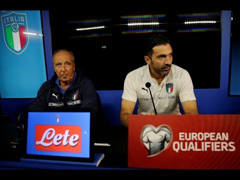 Gianluigi Buffon urges fans to get behind Italy ahead of crunch clash vs Sweden