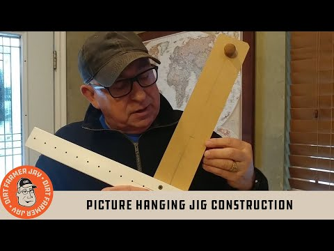 Picture Hanging Jig Construction